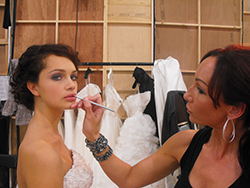 Marlenha skincare and make up artist wedding