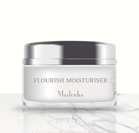 Flourish moisturiser for dehydrated skin